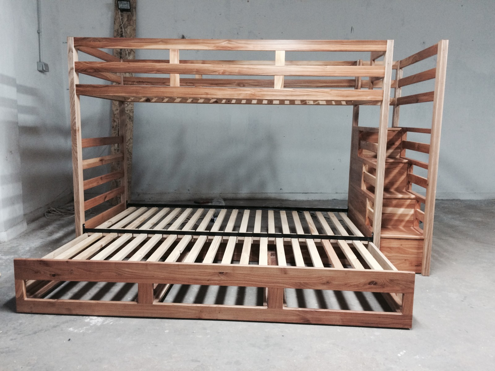 Triple Bed with Extension